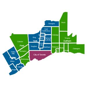 Toronto NeighbourhoodsРайоны Торонто