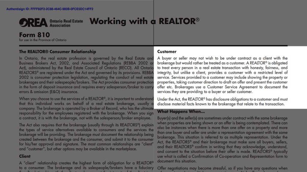 Договор Покупки Недвижимости Торонто Онтарио Канада